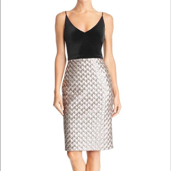 5da8b00b506 Black Halo Finley Velvet and Sequin Dress